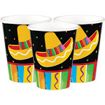 Fiesta Party Paper Cups 266ml