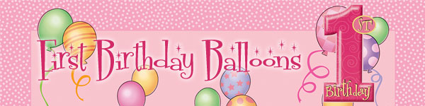 Pink Balloons Party Supplies