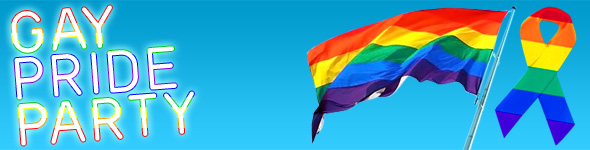 Gay Pride Party Decorations Accessories From Delights Direct