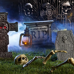 Skeletons & Tombstones