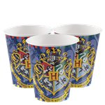 Harry Potter Cups - 270ml Plastic Party Cups