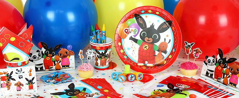 Bing Bunny Party Supplies