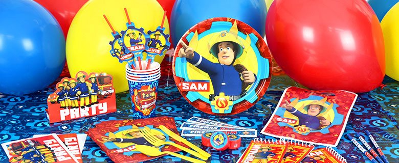 Fireman Sam Party Supplies