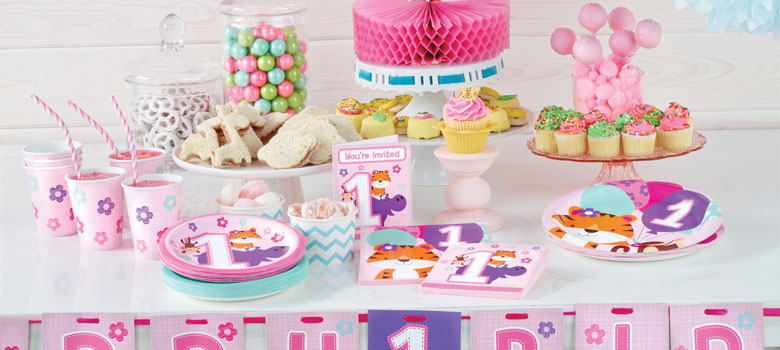 One is Fun Pink – 1st Birthday Party Supplies