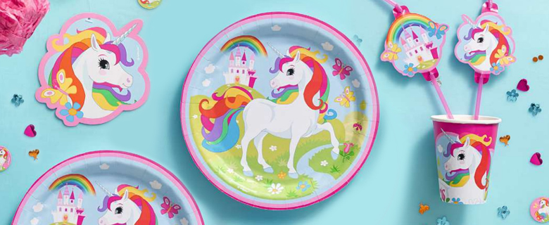 Rainbow Unicorn Supplies