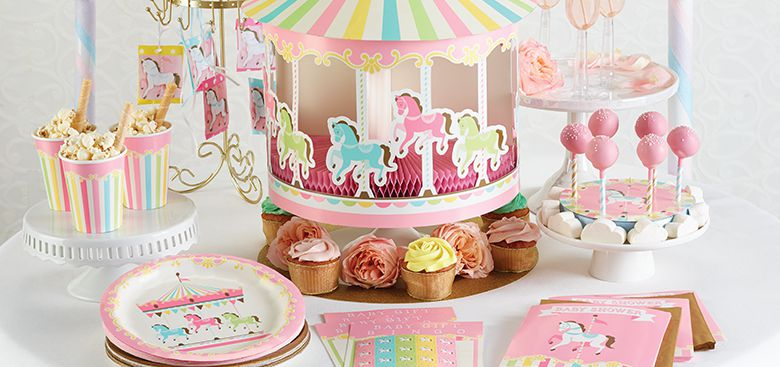 Carousel Birthday Party Supplies