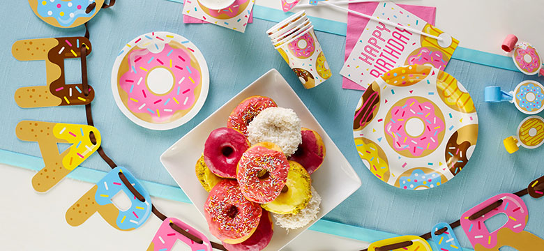 Doughnut Party Supplies