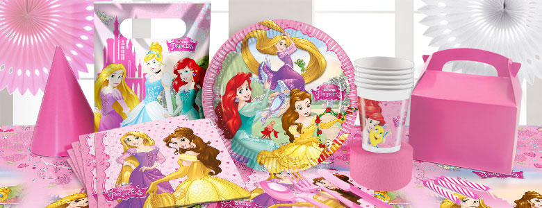 Disney Princess & Animals Party Supplies