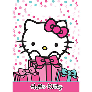 Hello Kitty Party Bags   Plastic Loot Bags