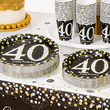 Accessories For The Perfect Party 40th Sparkling Celebration