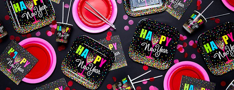 Confetti New Year Party Supplies