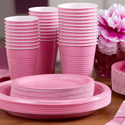 Baby Pink Partyware