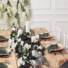 Flower Garlands & Foliage