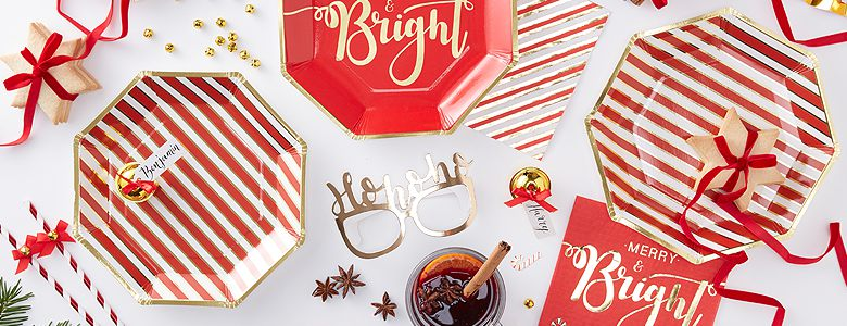 Merry & Bright Party Supplies