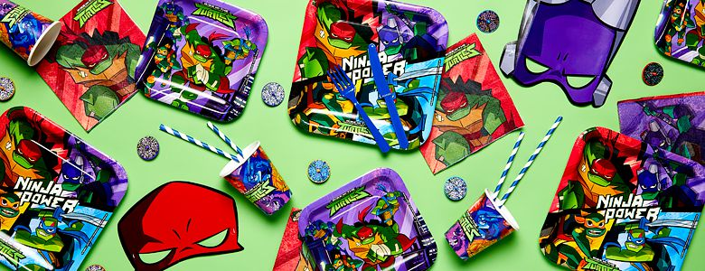 Rise of the Teenage Mutant Ninja Turtles Party Supplies