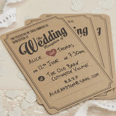 Invitations & Save the Date