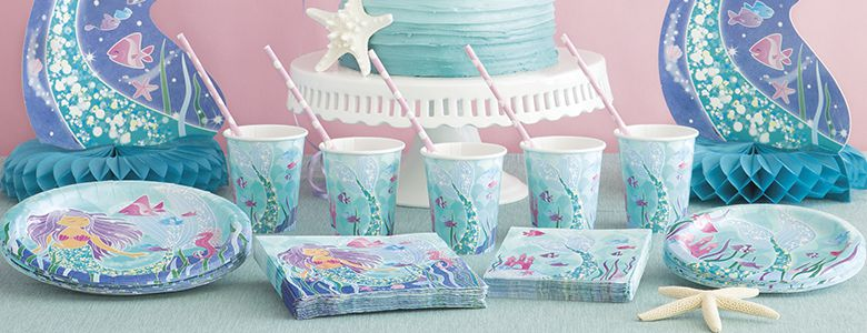 Magical Mermaid Party Supplies