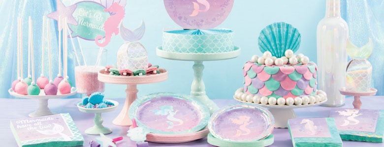Mermaid Shine Party Supplies