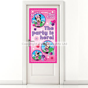 Minnie Mouse Party Door Banner