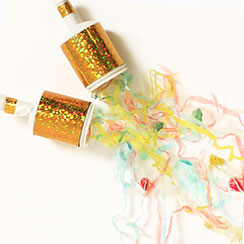 Party Poppers