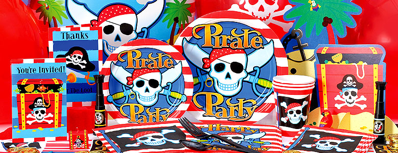 Pirate Skull Party Supplies