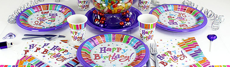 Radiant Birthday Party Supplies