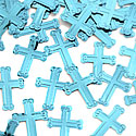 Please Select Blue Crosses Table/Invite Confetti