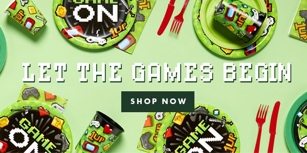 Game On - Party Range - Let the Games Begin