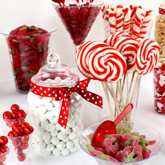 Red & White Theme