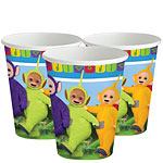 Teletubbies Cups - 266ml Paper Party Cups