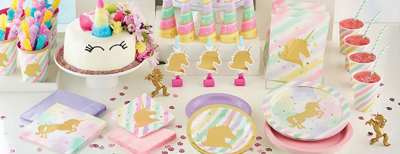 Unicorn Sparkle Party Supplies