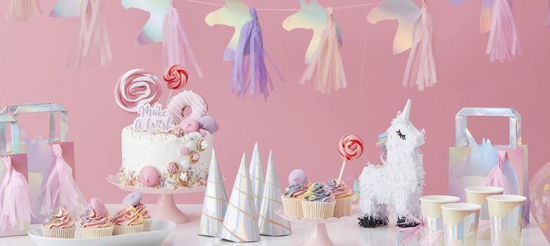 Unicorn Wishes Party Supplies