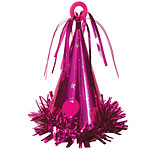 Large Fuchsia Party Hat Weight - 183g